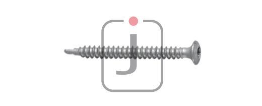 Tagskrue med borespids til stål